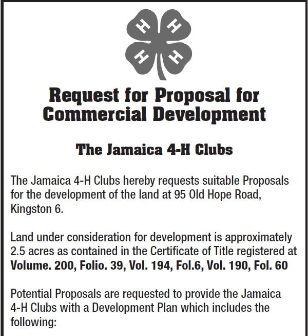 graphic regarding 4-h Pledge Printable titled Jamaica 4-H Golf equipment